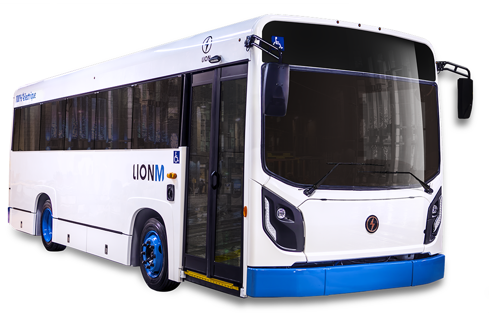 LionC - All-Electric, Zero-Emission EV Minibus | Lion Electric